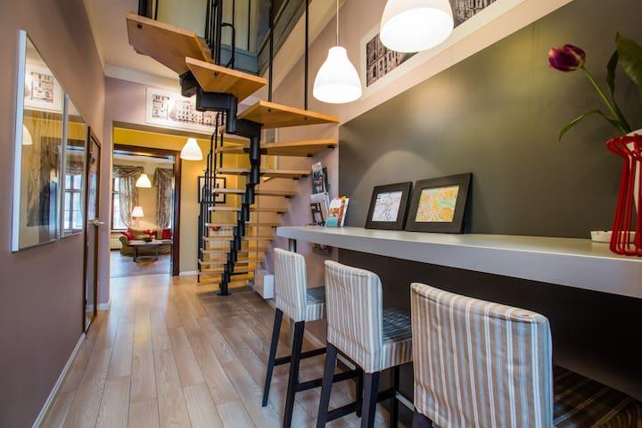 2-level Apartament 3 Bedroom 120m - Wroclaw