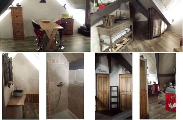 Appartement de caractère, chaleureux & cosy - Briançon - Lägenhet