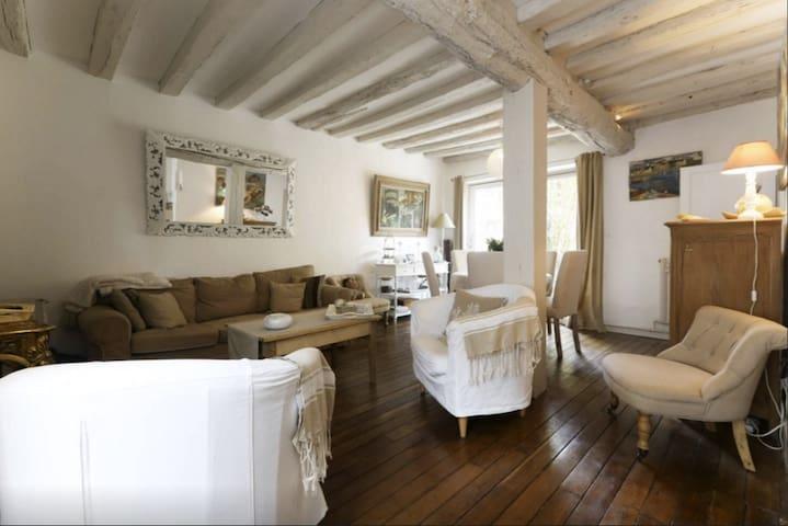 Maison de charme villageoise - Chevreuse