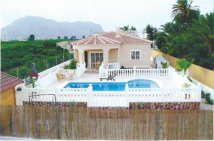 Pretty Villa with Pool - 오리우엘라(Orihuela)