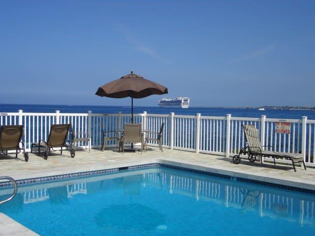 Clean Oceanfront Pool Beauty! - Kailua-Kona