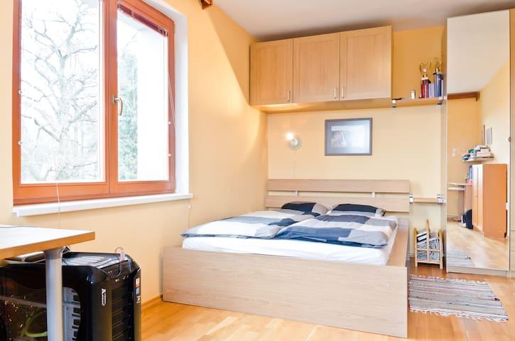 Prague, a room with private kitchen - Praga