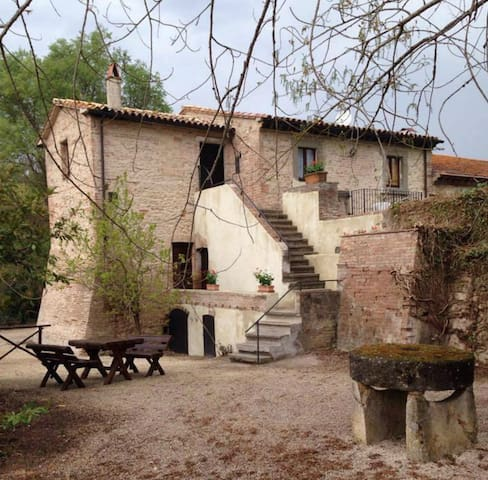 Appartamento in un Mulino ad Acqua - Acquasparta - Lägenhet