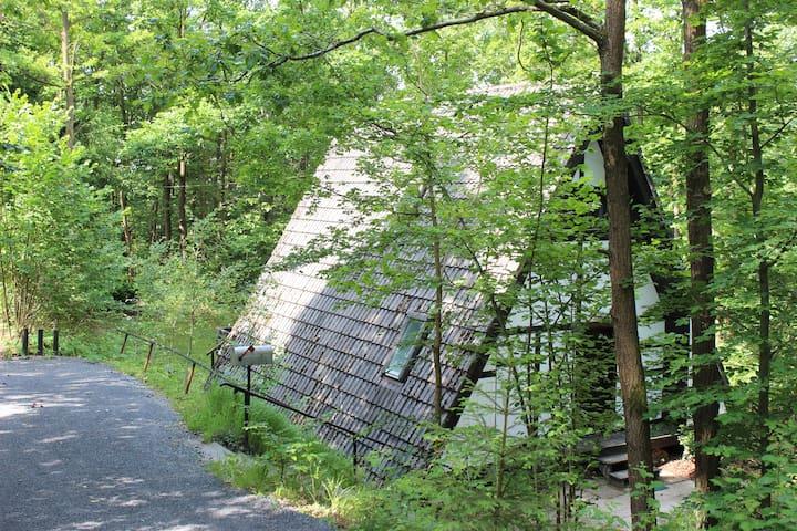 Waldhäuschen in Unterfranken - Sulzfeld - Huis