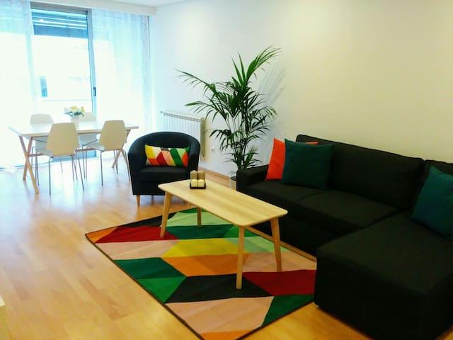 Modern, renewed apartment, close to the beach - 馬托西紐什