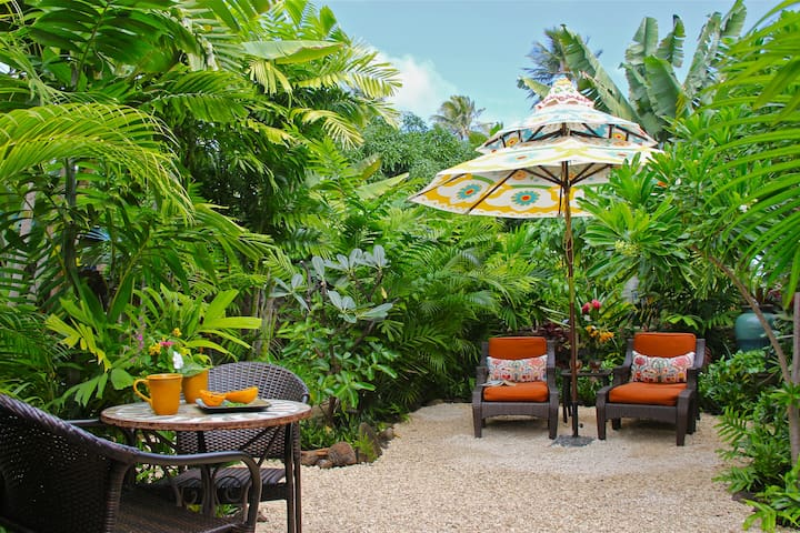 Secluded Beach Bungalow - Kailua - Casa