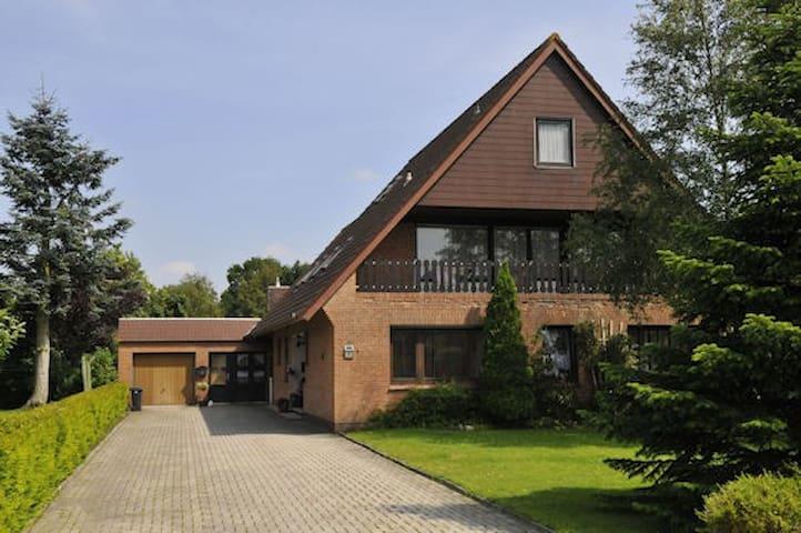 Nordsee Ferienwohnung, ruhige Lage - Holtgast - Appartement