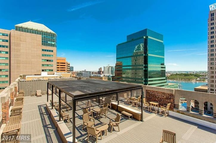 Luxury 1-bedroom in Baltimore's Inner Harbor - Baltimore - Appartement