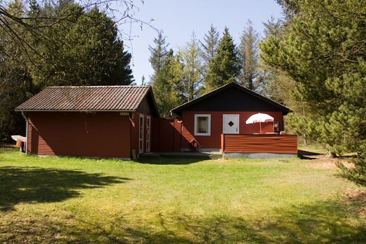 Summer Cabin close to the westcoast - Norre Nebel - Kulübe