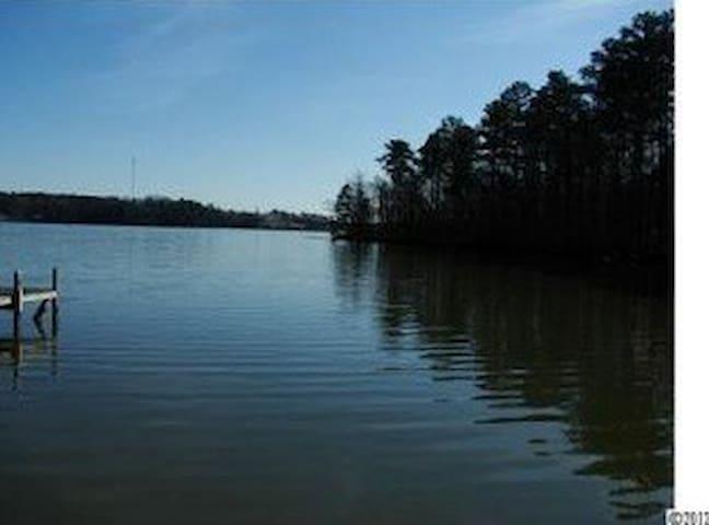Lakefront Cottage on Lake Tillery - Norwood - Hus
