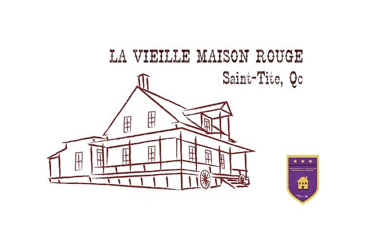 La vieille Maison Rouge - Saint-Tite - 獨棟