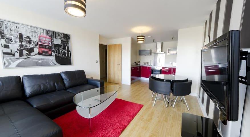 The Ruby House Apartment - Vizion - Milton Keynes - Milton Keynes - Wohnung