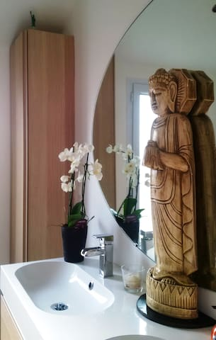 Chambre double à 20 min de Paris - Saint-Michel-sur-Orge - Casa de huéspedes