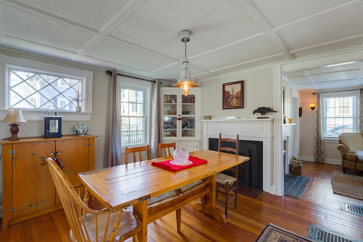 Downtown Charming Historic Cottage - Plymouth - Casa