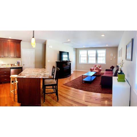 Your warm home in Lexington,Boston,walk to town! - Lexington - Departamento