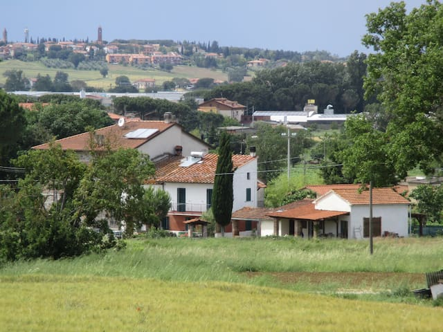 Fijn familiehuis midden tussen de Italianen - Macchie - Cabane