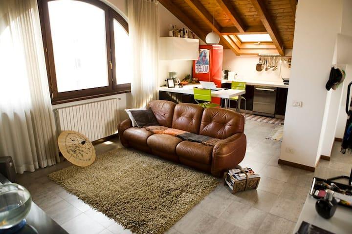 90mq apt. Milan,Monza,Como,Bellagio - Villa Raverio - Apartamento