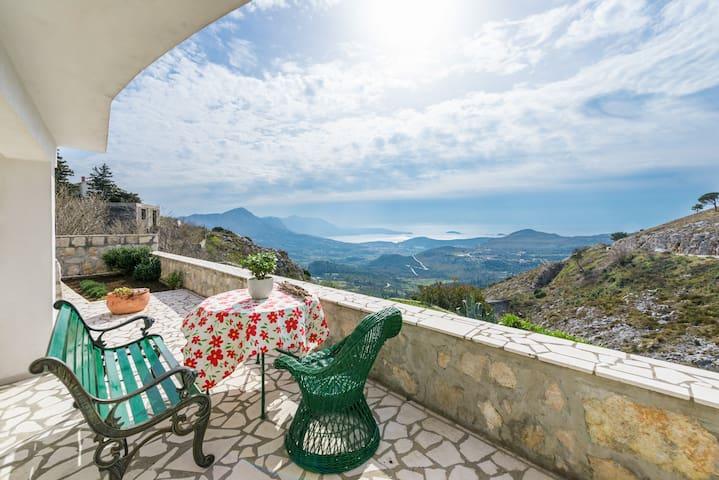 Belle vue near Dubrovnik - Donji