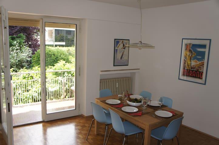 3 Zimmerwohnung zum Entspannen in Meran Obermais - Meran - Apartament