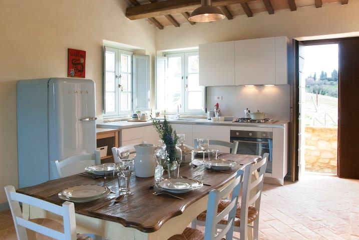 Casale Biancopecora, Casa Cerqua - Monsampietro Morico - Leilighet