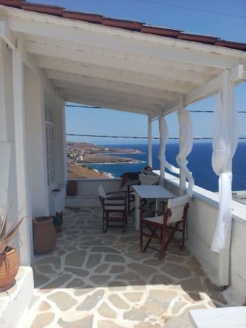 View the ocean - Agia Marina Mikrolimanou