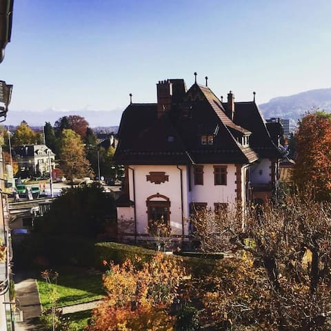 Private room with own bathroom & balcony - Berne - Apartemen
