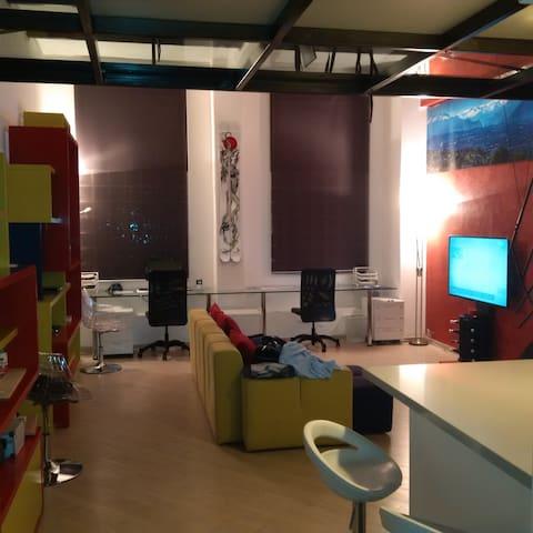 Loft Torino moderno San Salvario piano terra! - Turin - Loft