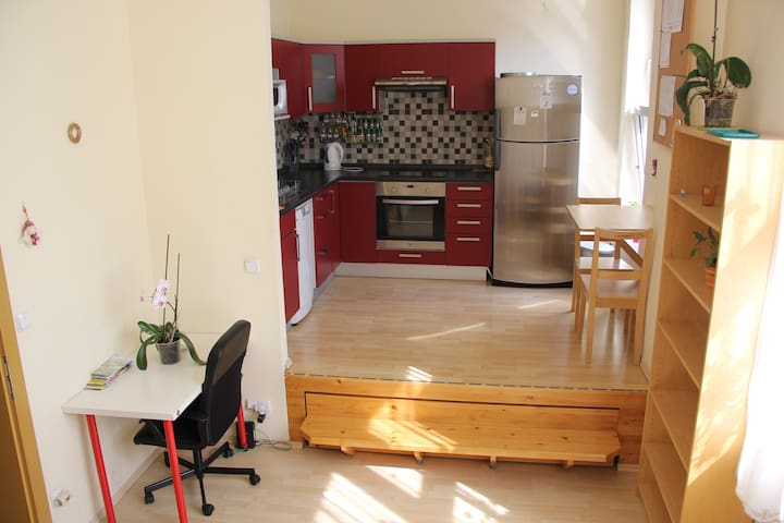 New studio apartment in Prague, Free Parking! - Praga - Appartamento