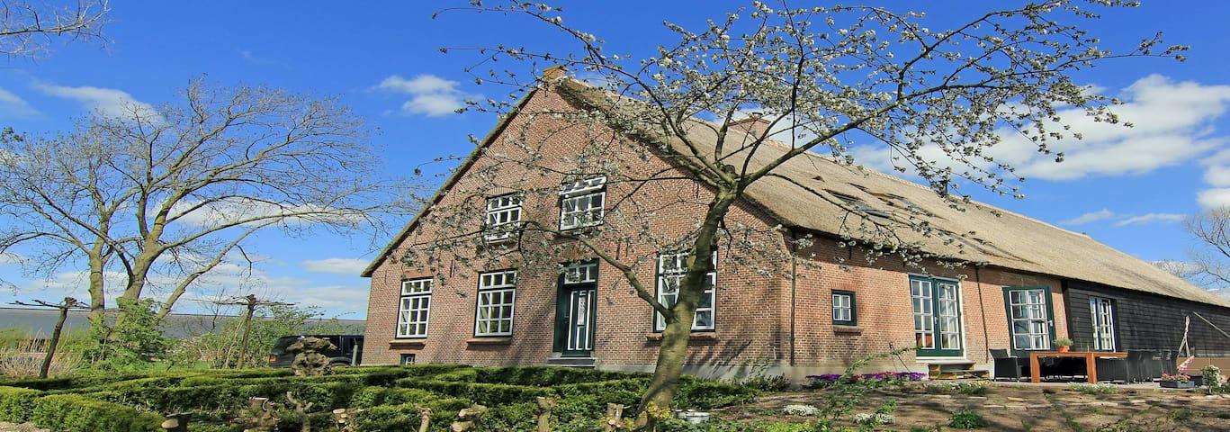 Herenboerderij landelijk uitzicht - Leerdam - บ้าน
