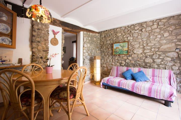 Acojedor apartamento en plena Garrotxa - Argelaguer