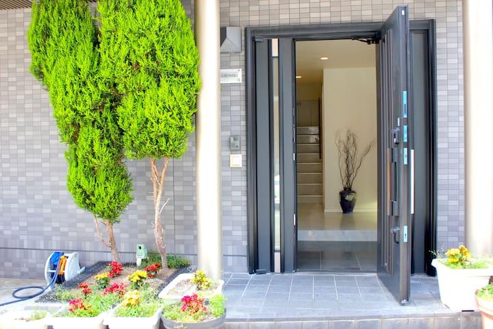 T-Room 5 min to walk to sky building - Ōsaka-shi - Dom