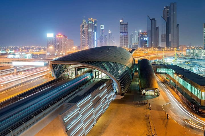 Clean & Compact by The Metro - Dubai - Leilighet