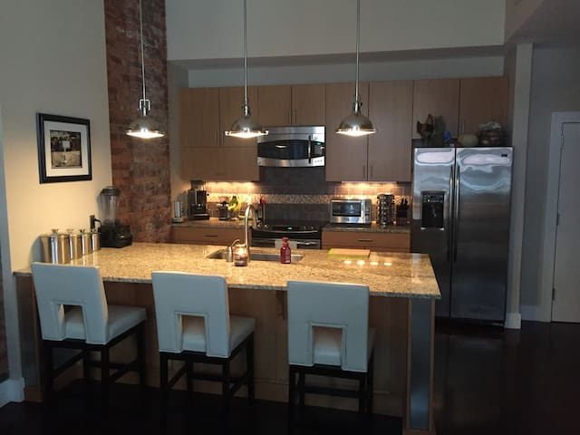 Private Room in Luxury Downtown Condo - Scranton - Condomínio