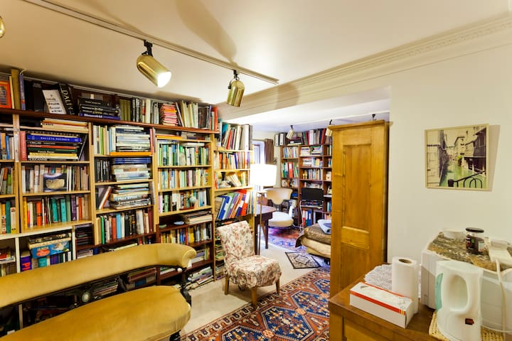 Library - bedroom and shower room - London