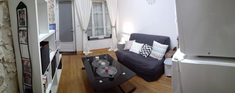 Petit appartement cocooning et chaleureux - Pringy - Daire