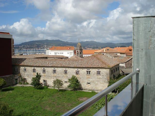 Atico en Centro historico de Baiona. - Baiona - Apartment