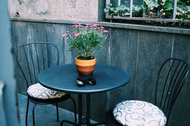 Lovely apartment in a big villa - Napoli - Oda + Kahvaltı