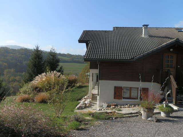 T2 au calme proximité Annecy - Mésigny - Leilighet