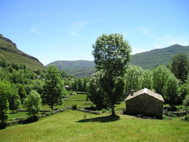 Preciosa cabaña pasiega restaurada - Las Machorras. Espinosa de los Monteros.  - Stuga