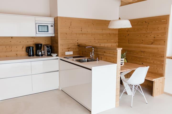 Moderne Natur-Ferienwohnung Josef bei Meran - Burgstall - Lägenhet