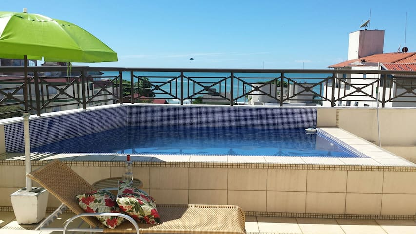 Penthouse - ocean view/private pool - Bombinhas - Departamento