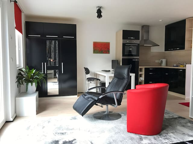 Modernes All-In-One-Studio an Hamburgs Stadtrand - Henstedt-Ulzburg - Appartement