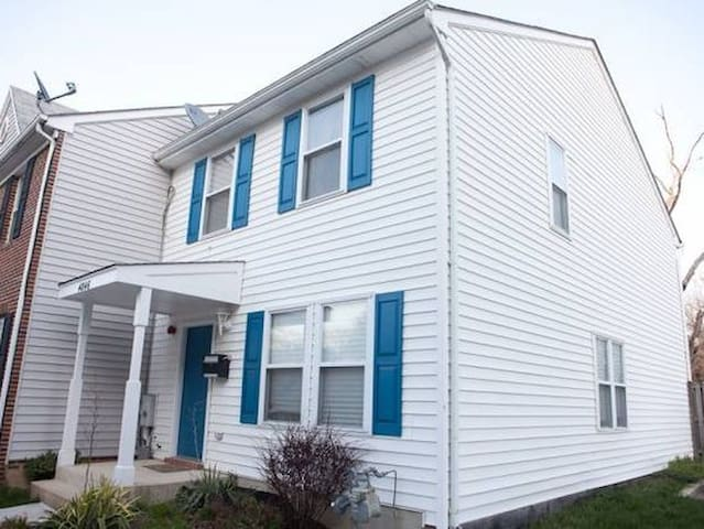 Fort DuPont Area Town Houses, 2 blocks from Metro. - Washington - Huis