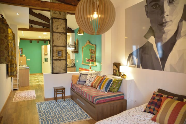 "Apartamento ""Casa del Mercado"" en Casco Viejo - Zaragoza - Lägenhet"