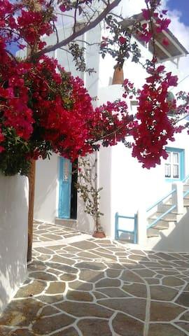 Traditional village house - Kostos - Huis