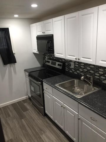 Private suite near Stony Brook & Port Jefferson - Selden - Appartement