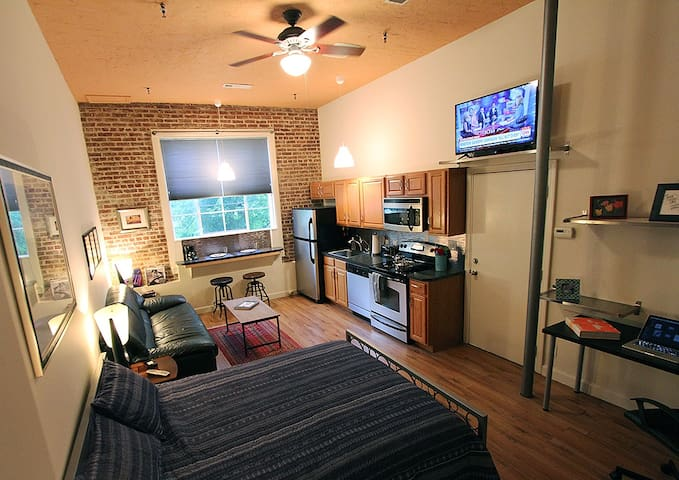 Historic Downtown Studio Loft - Atlanta - Loft