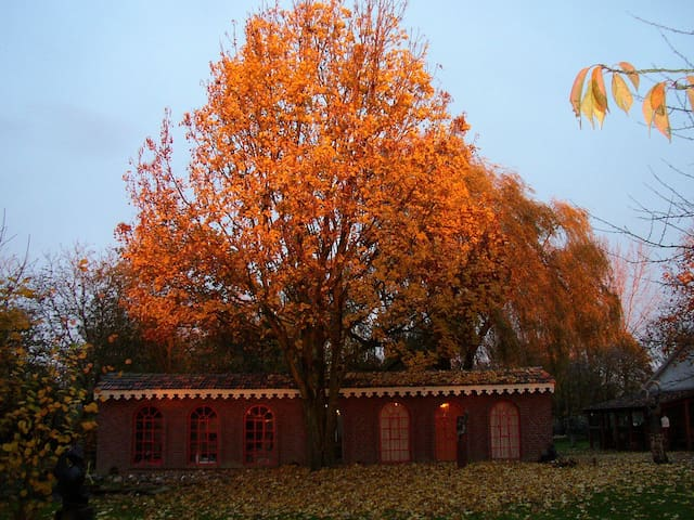 Beeldig Huisje in Noord Limburg - Well - Hytte
