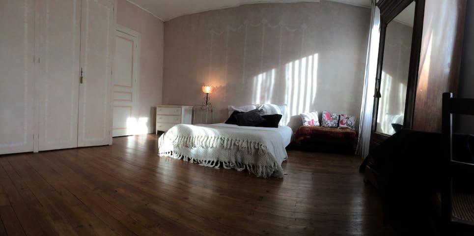 Jolie chambre  dans maison gersoise - Riscle - Adosado