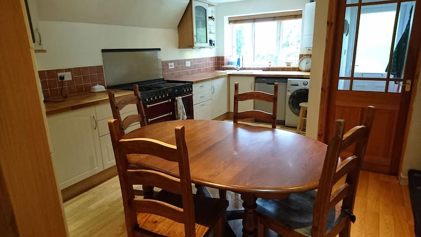 Family home with conservatory and logburner - Buxworth - Huis